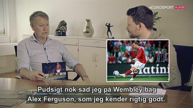 Hareide: Ferguson ser Eriksen som den bedste midtbanespiller