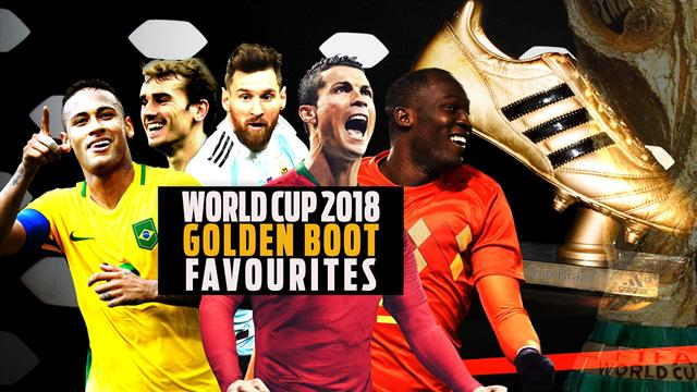 Top 10: World Cup 2018 golden boot favourites