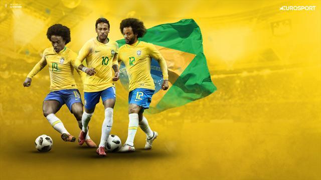 Mundial Rusia 2018, Grupo E: Brasil, solo vale salir campeón