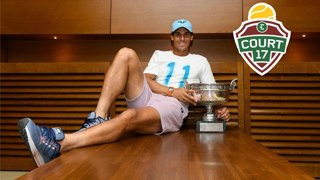 """Nadal et Federer se font progresser de façon extraordinaire"""