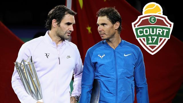 """""""Federer-Nadal, ça peut terminer à un Grand Chelem d'écart cette histoire"""""""