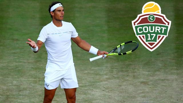 """Di Pasquale : """"Ce n'est plus sûr que Wimbledon soit encore un objectif pour Rafa"""""""