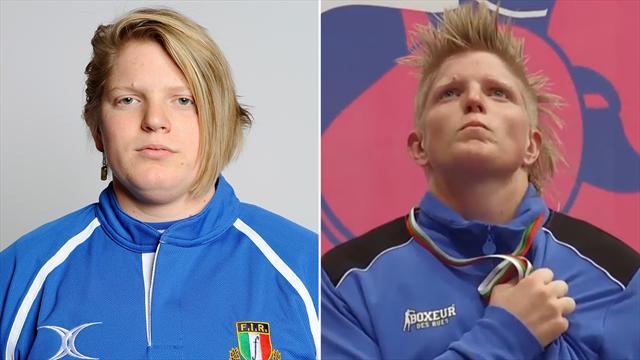 Star del rugby femminile diventa oro europeo nel pugilato: l'incredibile storia di Flavia Severin
