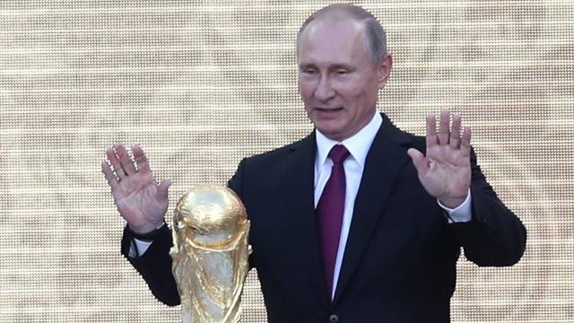 Die WM als Propagandamaschine - läuft!