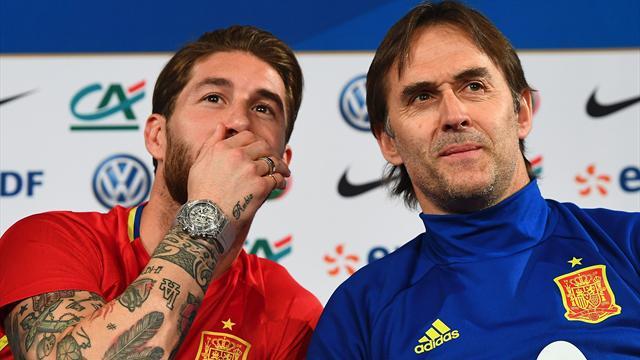 Marca: игроки сборной Испании выступали против отставки Лопетеги. Особенно настаивал Рамос