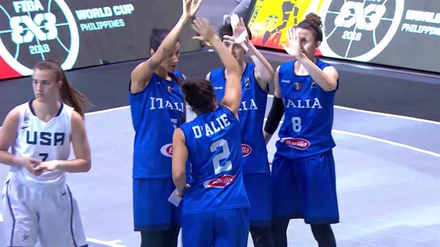 L'Italia è campione del mondo nel basket 3x3: rivivi gli highlights di una giornata epica