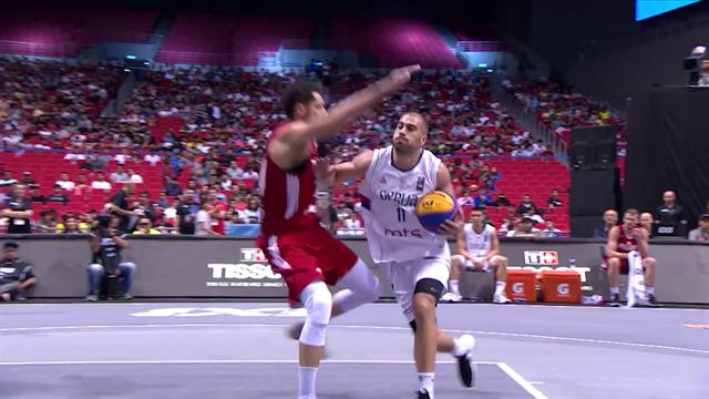 Trascina la Serbia alla medaglia d'oro: Dusan Bulut è l'MVP del Day 5 dei Mondiali 3x3