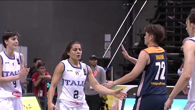 L'azzurra Rae Lin D'Alie è l'MVP della giornata finale dei Mondiali di basket 3x3