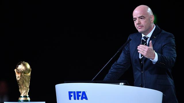 """Infantino: """"Heute ist die FIFA am Leben"""""""