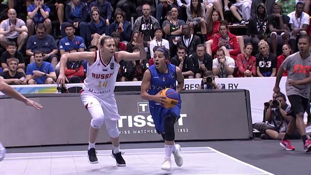 Mondiali di basket 3x3: Italia-Russia 16-12, gli highlights della finale