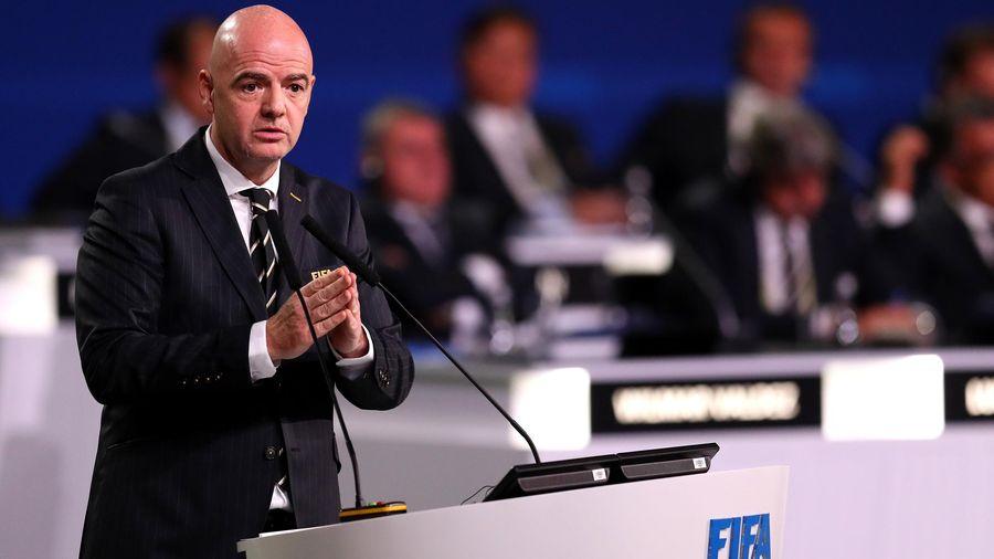 Джанни Инфантино, ФИФА