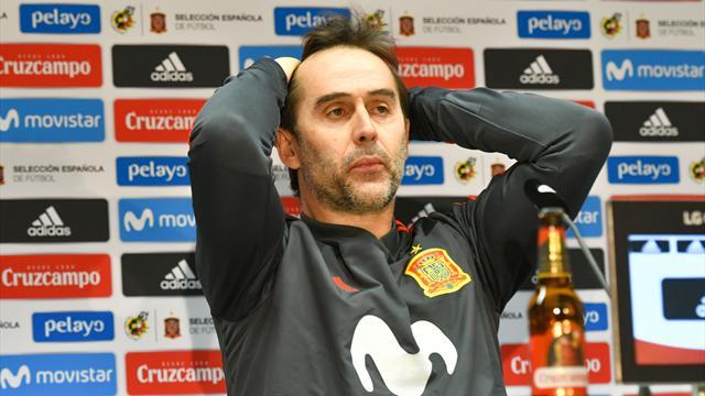 Mundial 2018: La RFEF destituye a Lopetegui a tres días del debut contra Portugal