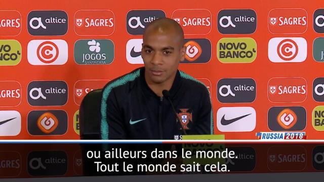 """Groupe B - Joao Mario : """"Le Portugal n'est pas au même niveau que l'Espagne"""""""