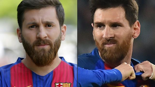 Messi-Double auf Rotem Platz festgenommen