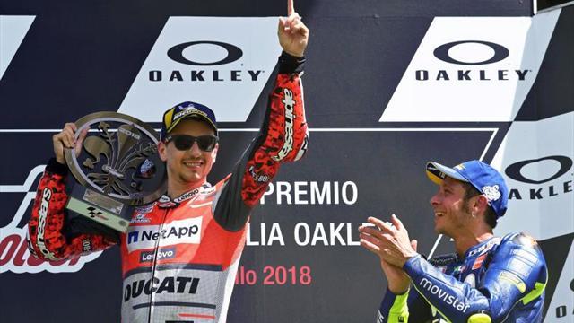 Lorenzo y Rossi los grandes obstáculos de Márquez en Barcelona-Montmeló