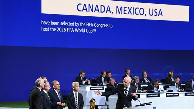 Az Egyesült Államok, Kanada és Mexikó rendezi a 2026-os focivébét