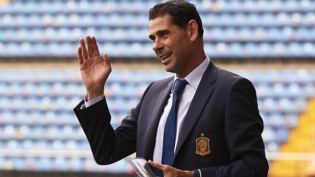 Fernando Hierro, el elegido para sustituir a Lopetegui durante el Mundial