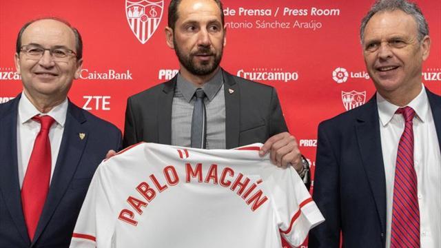 Machín trabajará en el Sevilla con tres colaboradores que tuvo en el Girona