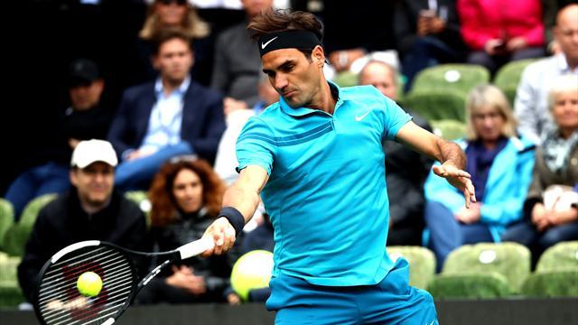 Федерер стартовал с победы над Зверевым-старшим
