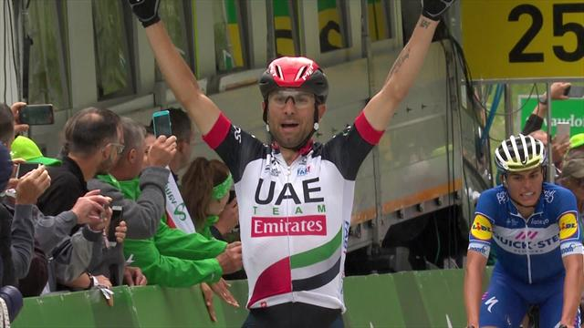 Ulissi wins Stage 5 as Porte takes lead