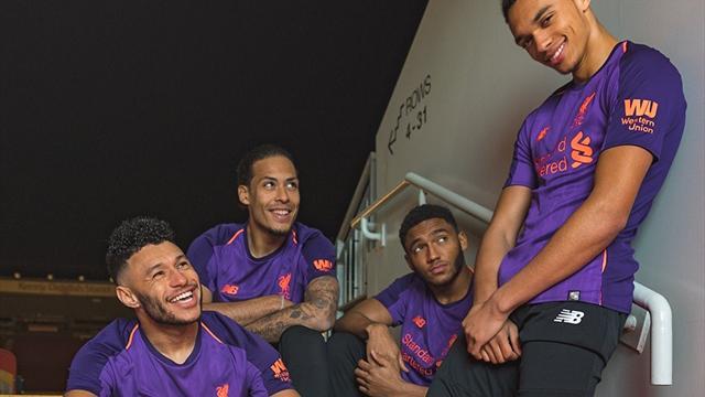«Ливерпуль» представил гостевую форму пурпурного цвета. Ты купишь таких 3