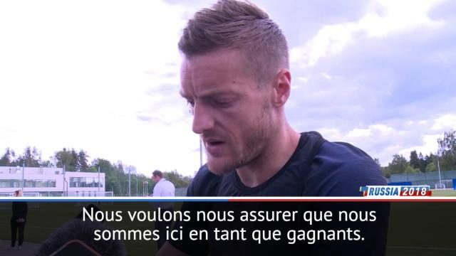 """Angleterre - Vardy : """"Nous avons la certitude de pouvoir gagner"""""""
