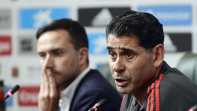Hierro to carry on Lopetegui's good work with Spain