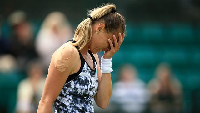 Rybarikova stunned at Nottingham, Osaka progresses