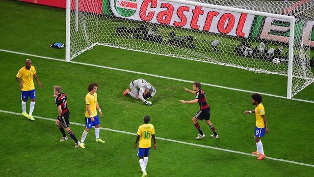 7:1-Tor von Belo Horizonte in Deutschland angekommen