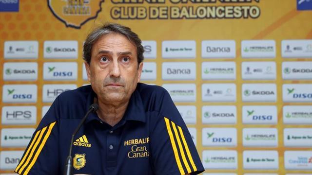 Luis Casimiro no seguirá siendo entrenador del Herbalife Gran Canaria