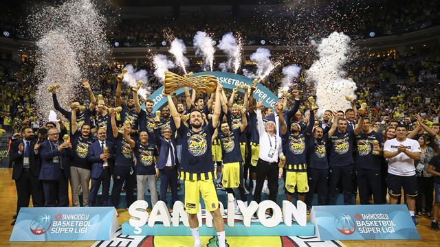 Fenerbahçe Doğuş, üst üste 3. kez şampiyon