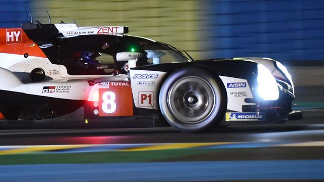 La inolvidable exhibición de Alonso en la noche de Le Mans