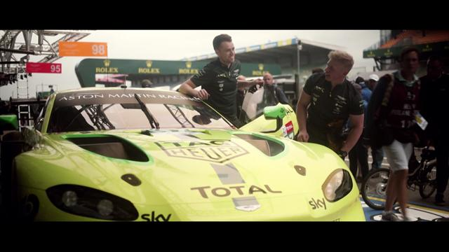 Total - Getting to know: la Aston Martin Vantage GTE e gli studi sull'olio