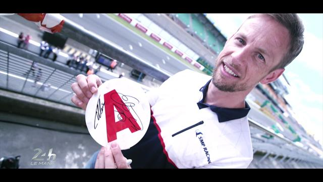"""Jenson Button: """"Guidare di notte è la cosa che mi ha causato più shock, c'è davvero buio!"""""""