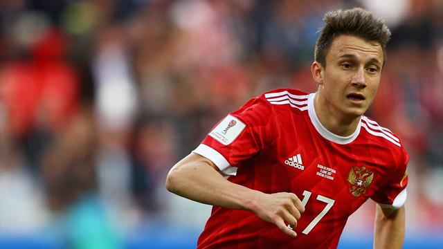Team news: Russia start Dzagoev and Golovin in World Cup opener