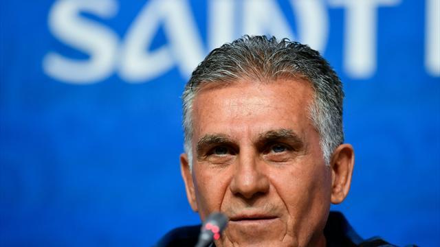 """Irans Coach Queiroz vor WM-Auftakt: """"Siege sind beste Medizin"""""""