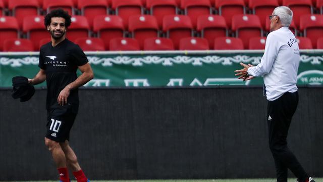 Mısır'a ilk maç öncesi Salah müjdesi