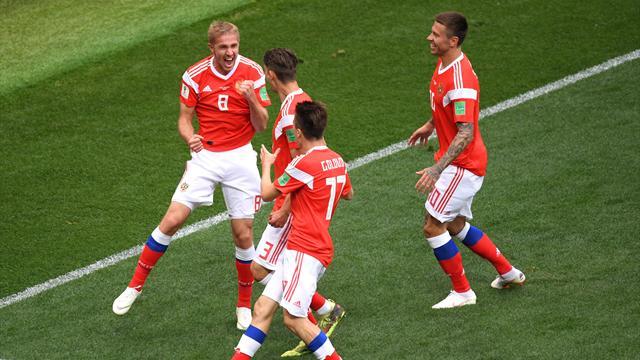 Газинский – автор первого гола чемпионата мира