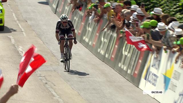 Soren Kragh Andersen takes Stage 6 of Tour of Switzerland
