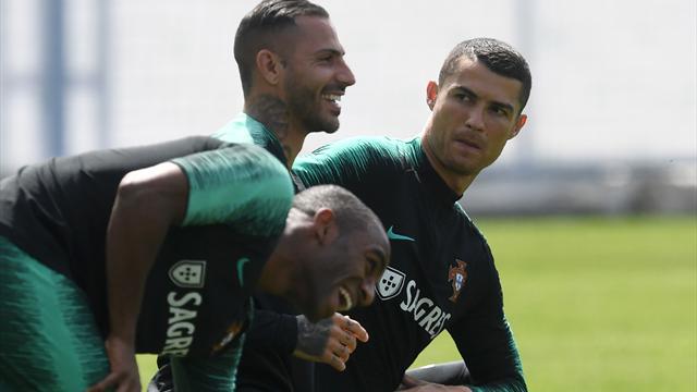 Portugal mit breiter Brust gegen Spanien