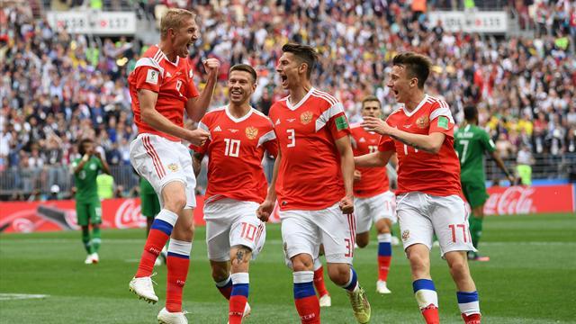 WM-Traumstart: Gastgeber Russland fegt Saudi-Arabien vom Platz