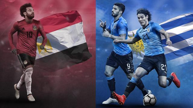 Mundial Rusia 2018: La previa en 60 segundos del Egipto-Uruguay