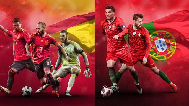 Mundial de Rusia 2018: La previa en 60 segundos del España-Portugal (20:00)
