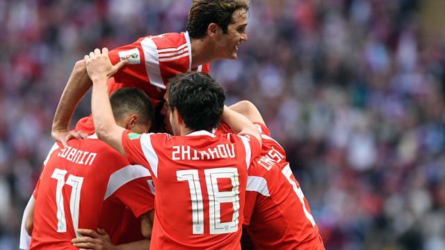 WM-Eröffnungsspiel: Russland startet mit Sieg gegen Saudi-Arabien