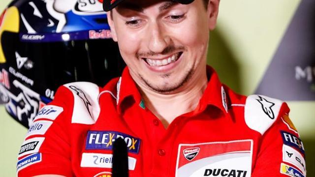 "Lorenzo: ""Me debo a Ducati hasta el final"""