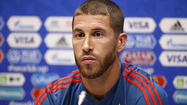 """Ramos : """"Il y a des goûts et des couleurs mais aucune fissure dans le vestiaire espagnol"""""""