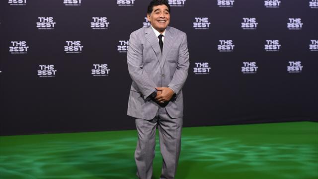 Maradona macht sich über WM-Vergabe lustig