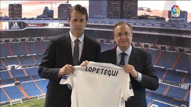 Real Madrid - La présentation du nouvel entraîneur Julen Lopetegui