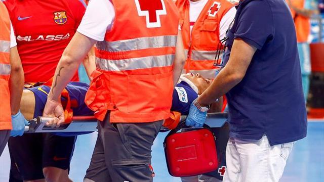 Ferrao (Barcelona), trasladado a un hospital tras quedar inconsciente