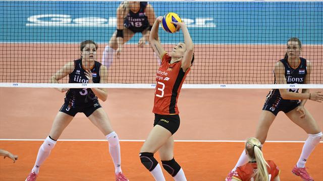 Volleyballerinnen verabschieden sich ohne Heimsieg aus der Nations League